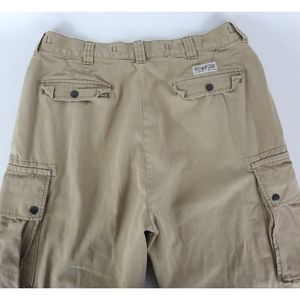 Polo Ralph Lauren 35x30 Cargo Military Pants Beige